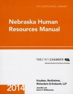Knudsen Law - 2014 Nebraska Human Resources Manual